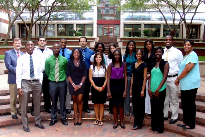 Summer Research Program Participants, 2011