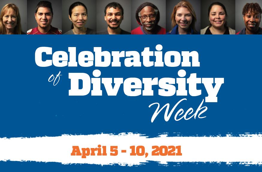 Celebration of Diversity Week 2021 graphic